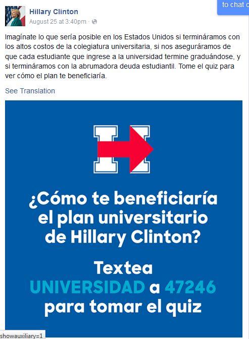 Hillary FB