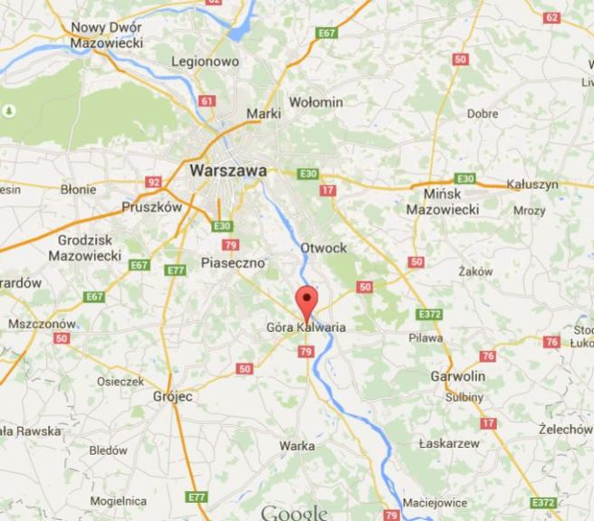 The Polish town called