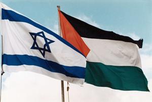 Israel-Palestine-flags