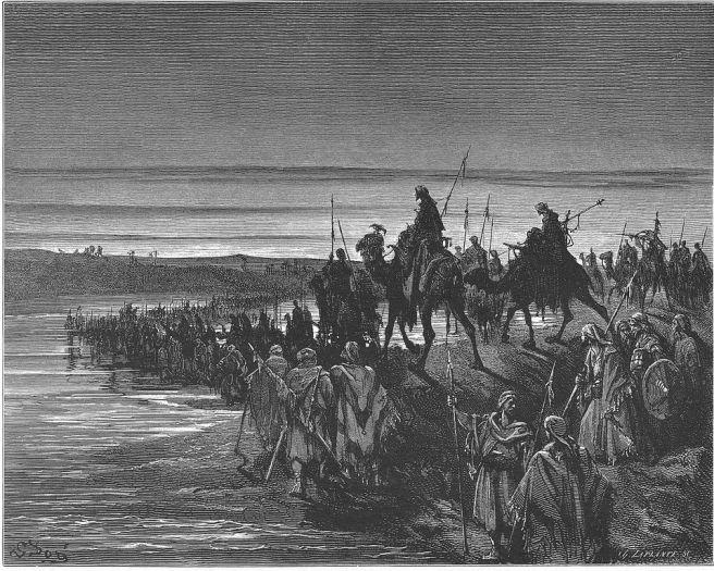 959px-044._The_Israelites_Cross_the_Jordan_River