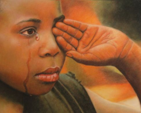 Llagrimes_(tears),_pastel_portrait_by_Robert_Perez_Palou